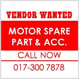 Vendor Wanted Moto Spare Part Acc